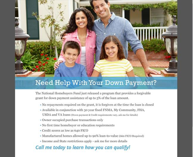 Help With DownPayment Seattle